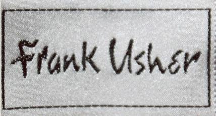 Designer Frank Usher
