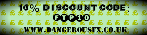 www.dangerousfx.co.uk 10% coupon
