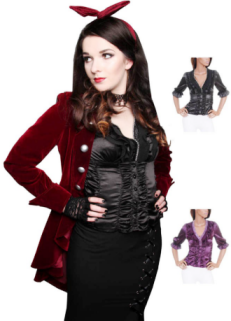 dangerousfx-victorian-satin-diamante-vintage-blouse-black-purple-cream