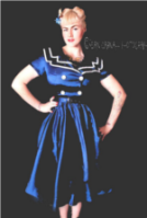 www.dangerousfx.co.uk sailor nautical dress