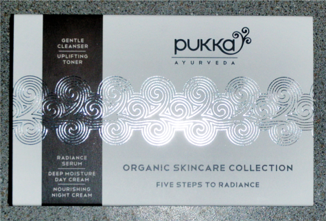 Pukka Ayurveda Organic Skincare Collection Gift Set Oil Serum Moisturiser Spray Toner Review 1
