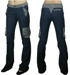 Chicstar_Stripe_Jeans_Denim