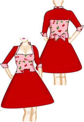 rockabilly swing 50s dress