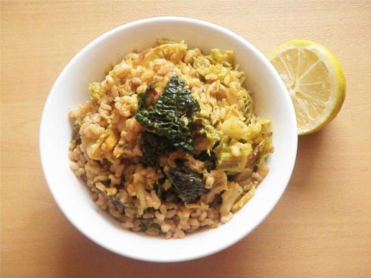 11-fried-cabbage-parsnip-cumin-coriander-mustard-seeds-rice-lemon-slice
