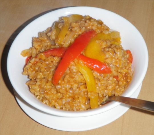 sun-brown-rice-fried-sweet-spicy-peppers