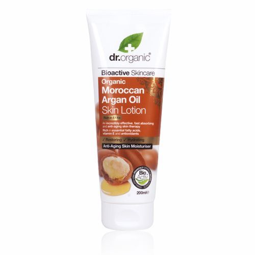 Moroccan Argan Oil Dr Organic Skin Lotion