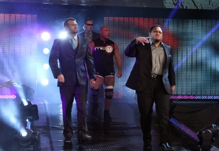 Samoa Joe looking more slick in this complimentary combination.