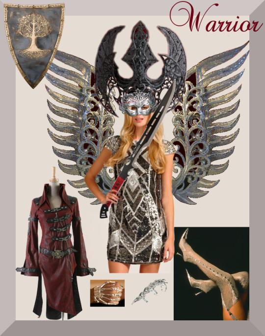 Warrioress Goddess Valkyrie Amazon Fighter Warrior