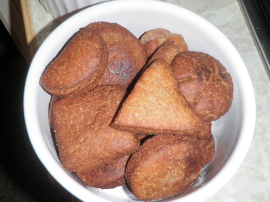 Sweet Coconut Fried Bread Shapes Dough Fun