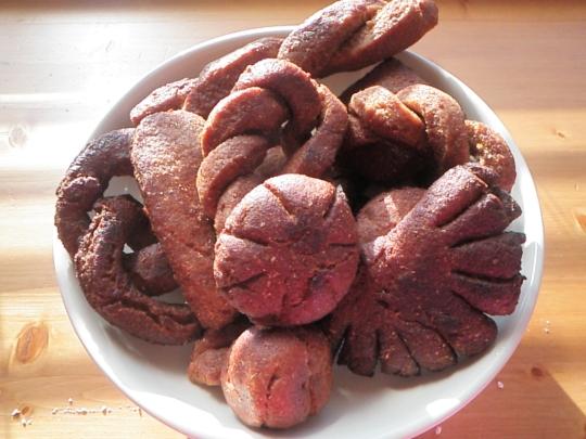 Sweet Coconut Fried Bread Shapes