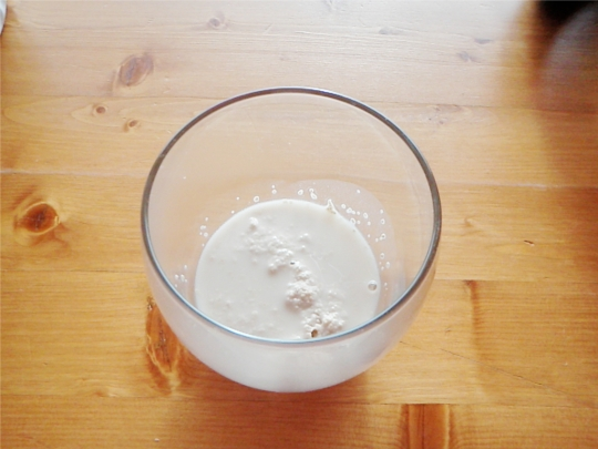 yeast water fermenting