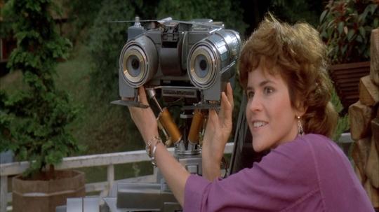 Short Circuit Johnny 5 Stephanie Robot Friends Film