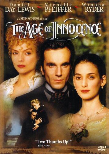 The Age of Innocence Michelle Pheiffer Daniel Day Lewis Winona Ryder Edith Wharton Film Review Martin Scorsese 1993
