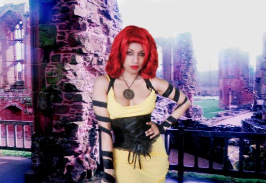 Black Yellow Destruction Outfit