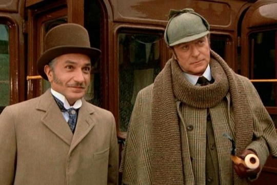Without A Clue 1988 Detective Comedy Spoof Sherlock Holmes Dr Watson Ben Kingsley Michael Caine