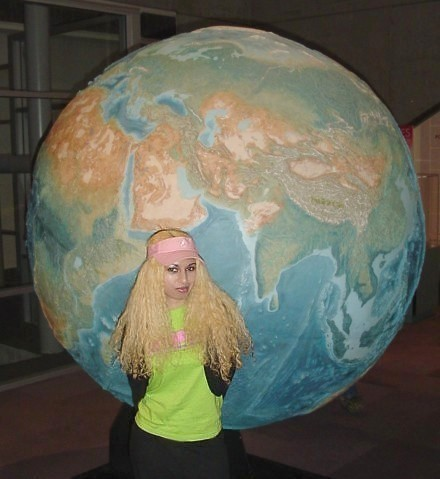 World Earth Globe Tourist