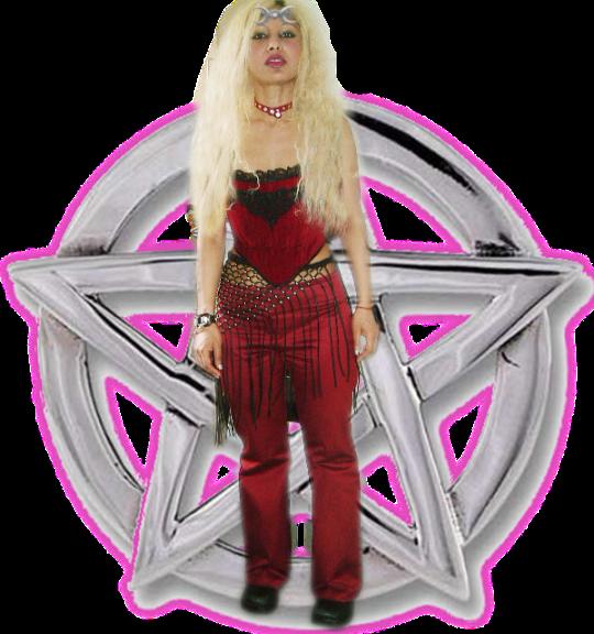 Mother Goddess Lalita Kali Isis Red Mama