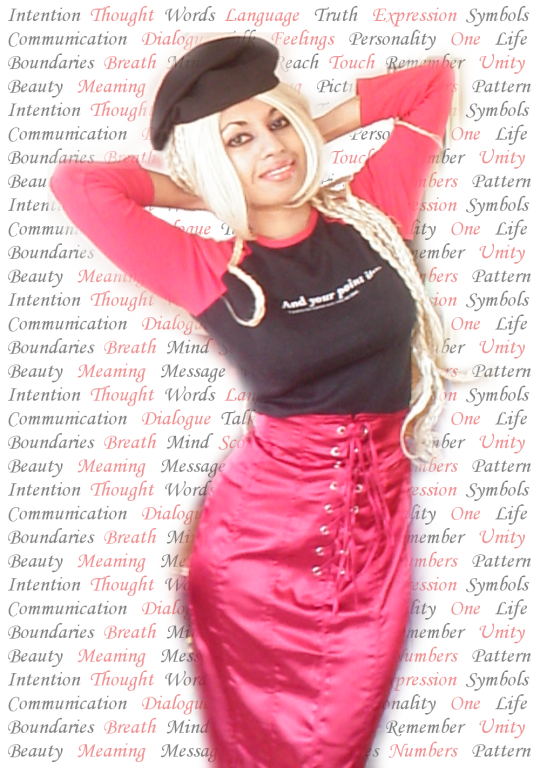 Black Red T-Shirt Long Sleeve Slogan Top Satin Lace Up Goth Skirt Biker Cap Hat