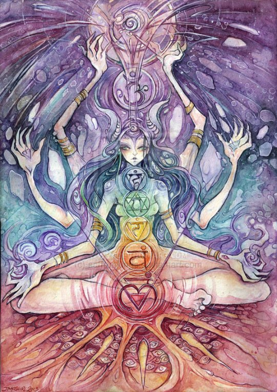 Chakras Art Artwork