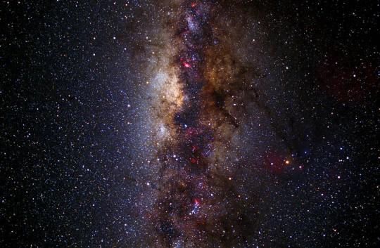 Galactic Centre Center Core