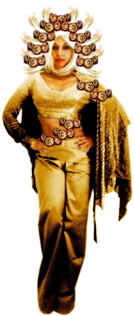 Sun Light Sunshine Enlightenment Red Gold Divinity Wheel Chakra Goddess
