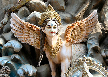 Dhenu Ambika Gaumata Sacred Divine Cow Mother Goddess