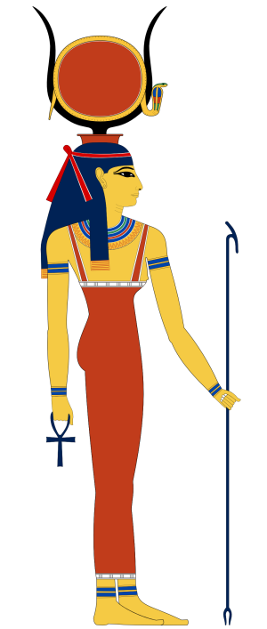 Hathor Divine Cow Sky Mily Way Goddess
