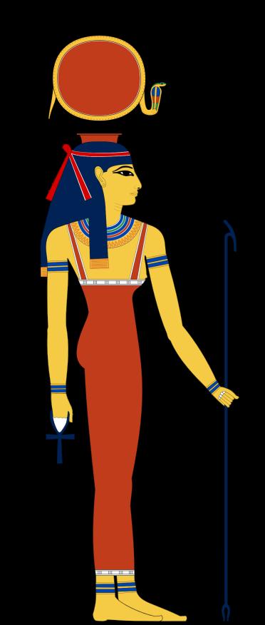 Hathor Divine Cow Sky Mily Way Goddess