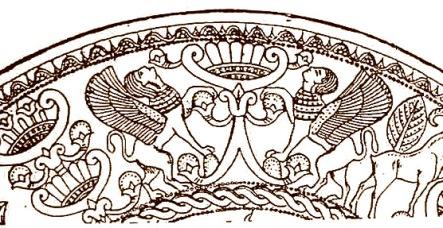 Phoenician platter, circa 700 bce