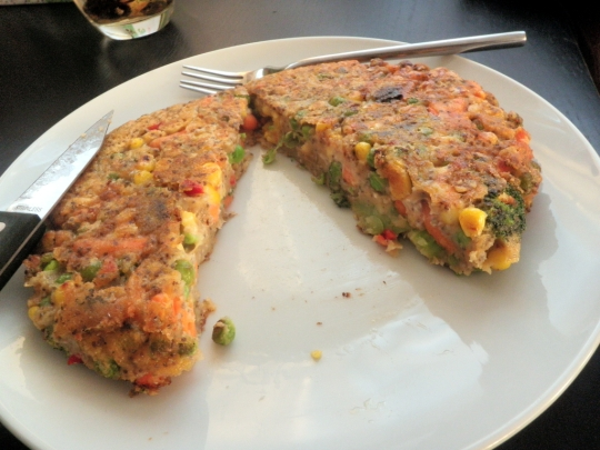Homemade Veggie Vegetable Fruit Burgers Fritters Pancakes Healthy Vegan
