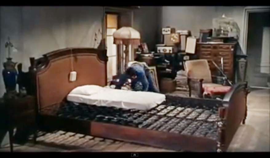 Cinderfella bedroom