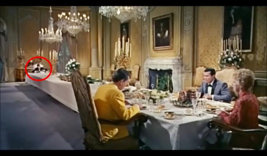 Cinderfella dining room hypocrisy