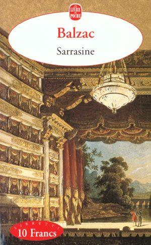 Honoré de Balzac Sarrasine French Edition