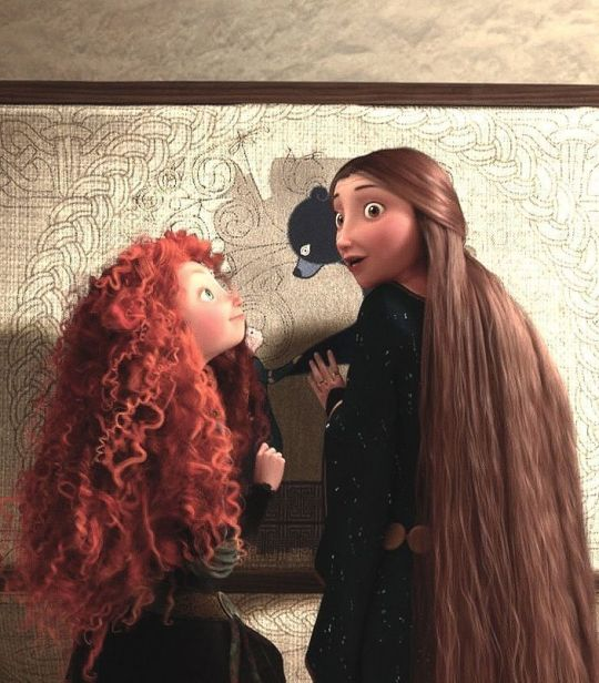 Brave Merida Daughter Bear Mother Elinor