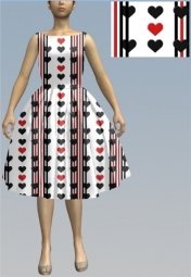 hearts8 print