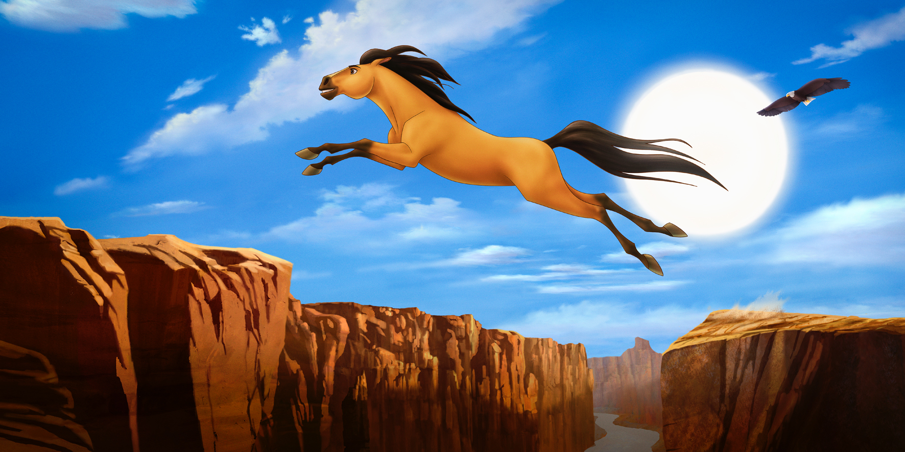 Spirit Stallion Of The Cimarron When I Lived Wild And Free