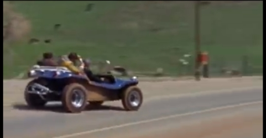 The Computer Wore Tennis Shoes 1969 Film Dune Buggy
