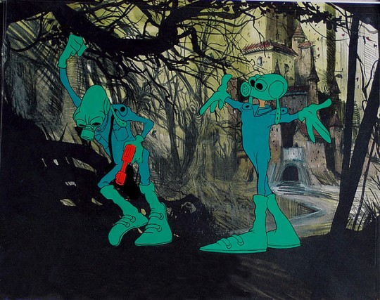 Wizards 1977 film animation