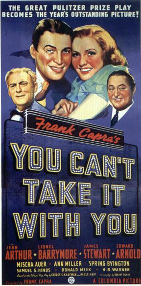 You cant take it with you 1938 film movie review