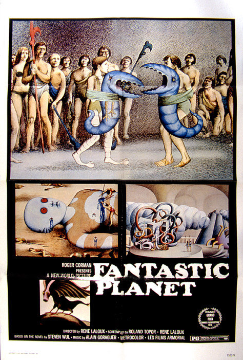 Fantastic Planet 1973 La Planete Sauvage film