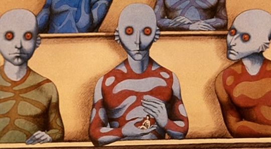 La Planete Sauvage Fantastic Planet 1973 Blue Beings