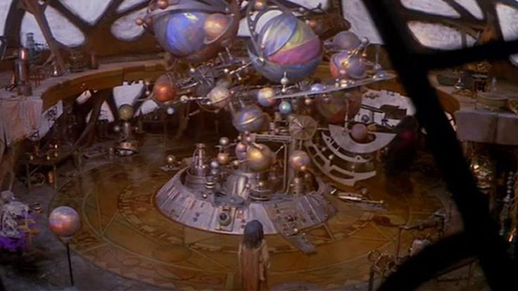 Dark Crystal 1982 Aughra Observatory Orrery Cosmos Space