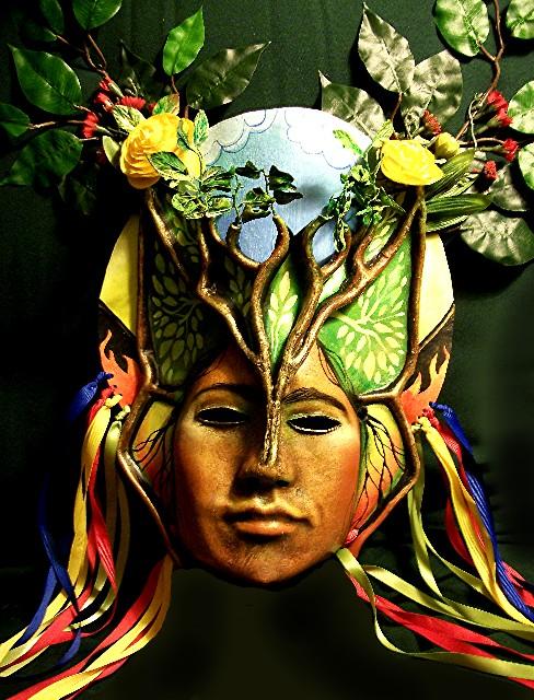 Pachamama mask