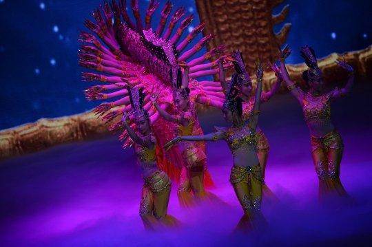 Guan Yin Thousand Arms Dance