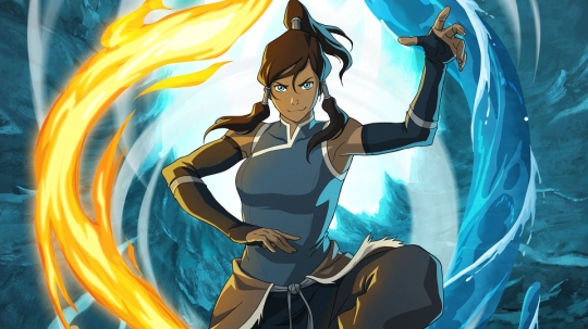 The Legend of Korra Water Fire