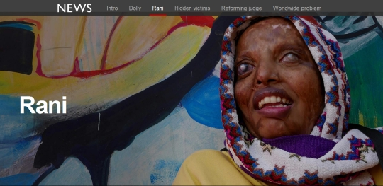 Rani Acid Attack Victim Survivor Sheroes