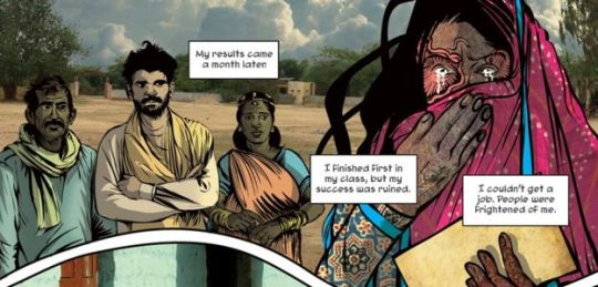 Priya's Shakti Mirror Comic Book Acid Attack Rape Survivors Victims
