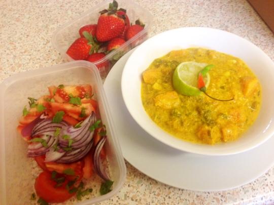 squash stew soup vegan recipe cooking