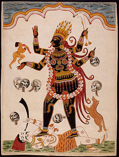 Kali Maa Black Goddess