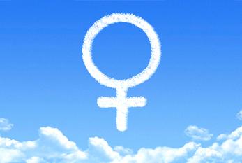 Venus Female Symbol Sky